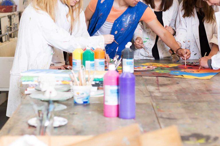 peinture college