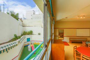 Extérieur et classe école internationale Casablanca Maroc